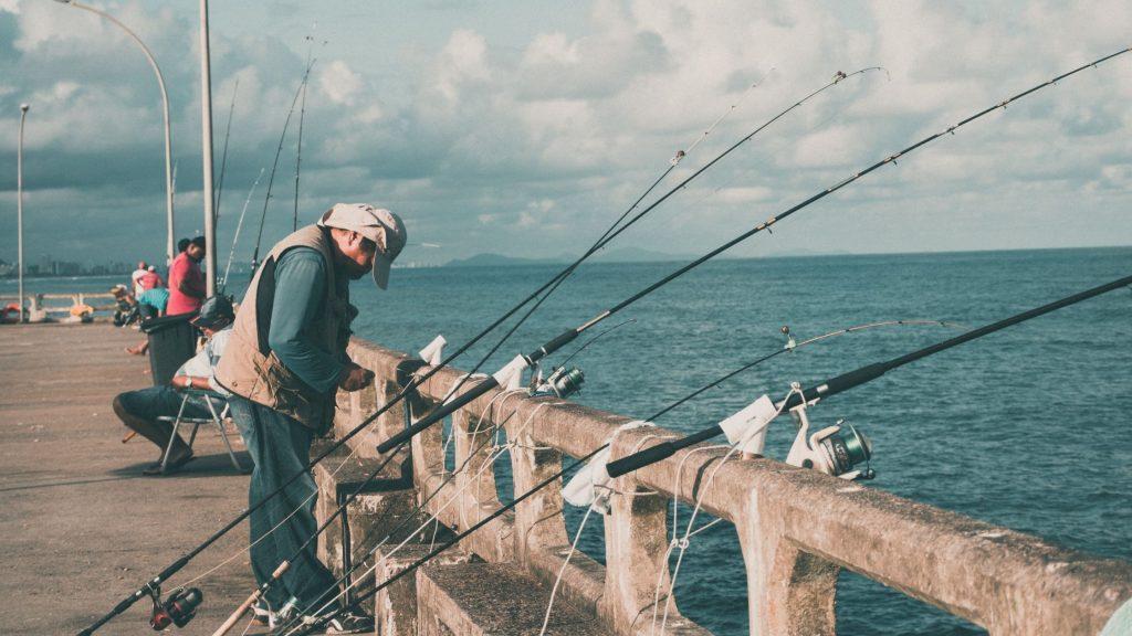 pier fishing location