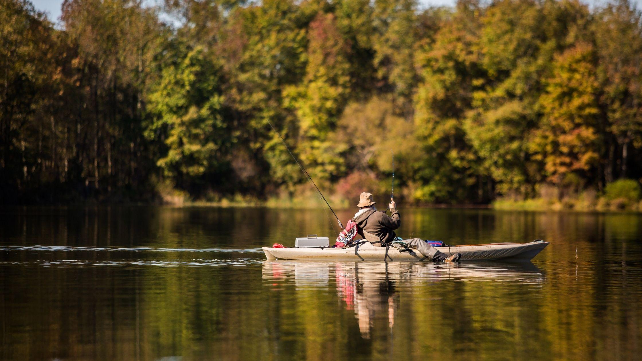 kayak fishing for beginners