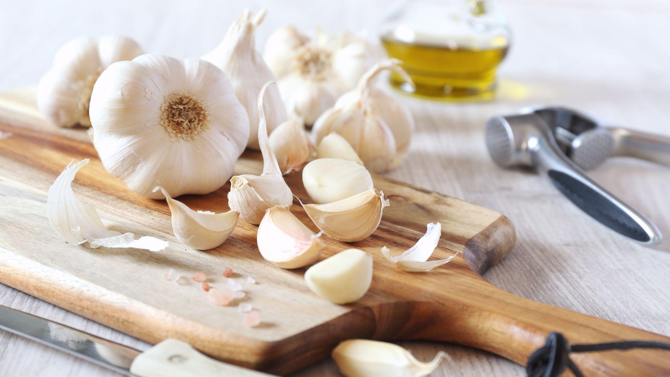 Garlic for fish