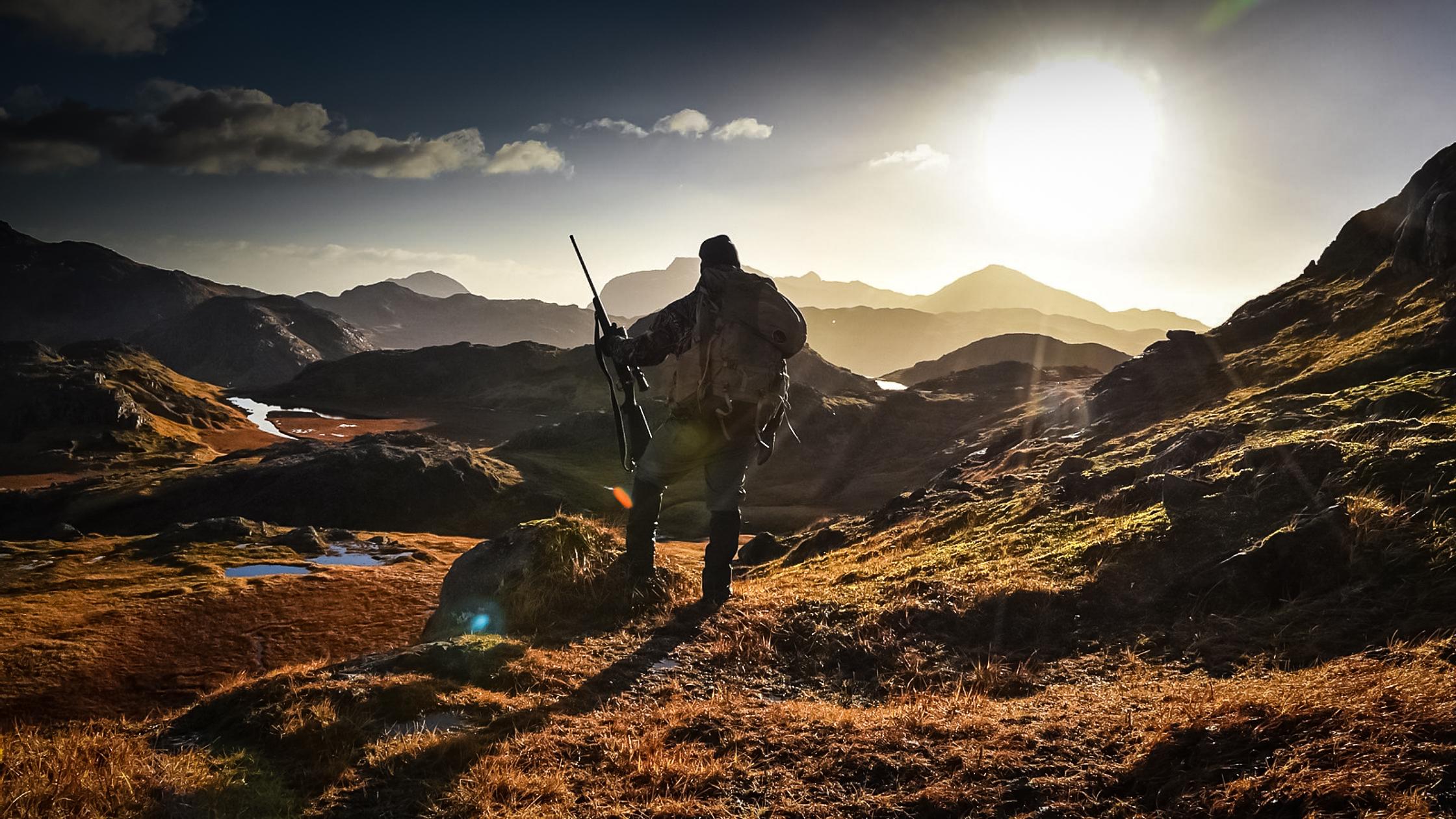Upwind vs downwind hunting