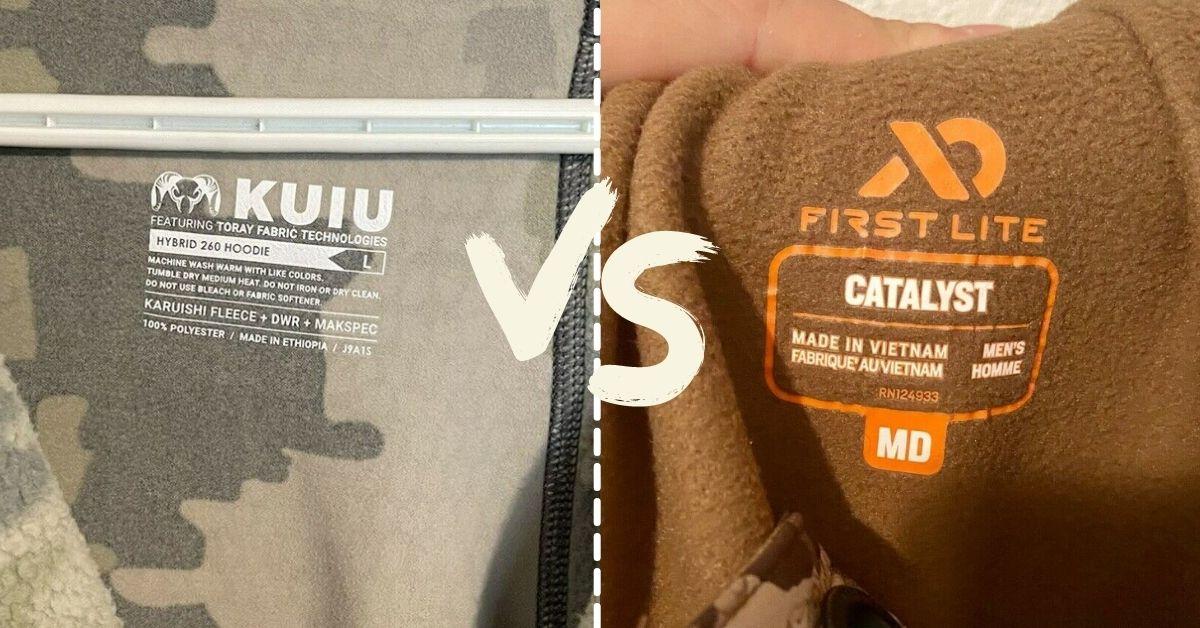 Kuiu vs First Lite